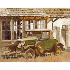 "1930 Ford Model ""A"" Sport Coupe  - #GOR2  -  PRINT"