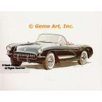 Corvette  - #GOR24  -  PRINT