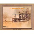 "1926 Ford Model ""T"" Express Truck  - #GOR4  -  PRINT"