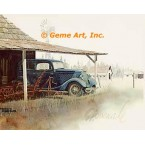 1934 Ford Deluxe Coach  - #GOR7  -  PRINT
