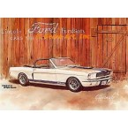 1966 Ford Mustang Shelby Convertible  - #GOR9  -  PRINT