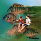 Fish Tales  - LOR805  -  PRINT