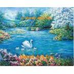 Swan Family  - #ZOR601  -  PRINT