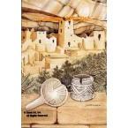 Southwest Pueblos  - LOR503  -  PRINT