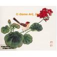 Bird & Geranium  - #OOR9  -  PRINT