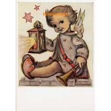 Hummel Postcard  - #HPCH14439  -  POSTCARD