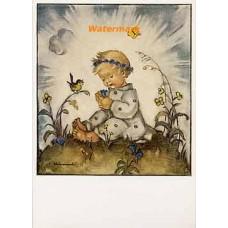Hummel Postcard  - #HPCH14466  -  POSTCARD