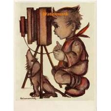 Hummel Postcard  - #HPCH4767  -  POSTCARD