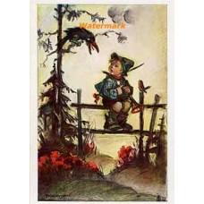 Hummel Postcard  - #HPCH5328  -  POSTCARD