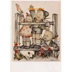 Hummel Postcard  - #HPCH5617  -  POSTCARD