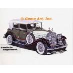 1931 Cadillac V16 Phaeton  - #MOR301  -  PRINT