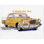 1957 Studebaker  - #MOR303  -  PRINT