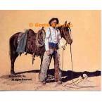 Lone Star Cowboy  - MOR404  -  PRINT
