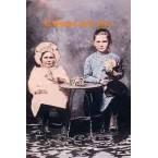 Children With Roses  - MOR409  -  PRINT