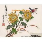 Butterfly & Flower  - #LOR1  -  PRINT