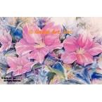 Pink Flower  - #ROR613  -  PRINT