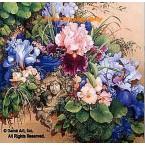 Victorian Garden  - #ROR182  -  PRINT