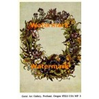 Flower Wreath  - #MPOR14  -  PRINT