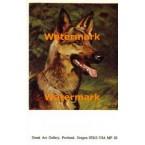 German Shepherd  - #MPOR23  -  PRINT