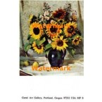 Sunflower Bouquet  - #MPOR9  -  PRINT