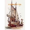 Fishing Boat  - #NOR18  -  PRINT