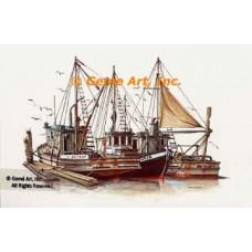Boats  - #NOR20  -  PRINT