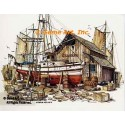 Chandler's Boat Shop  - #NOR24  -  PRINT