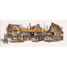 Dock Street  - #NOR27  -  PRINT