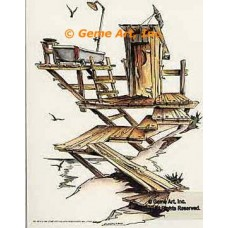 Outhouse & Bathtubs  - #NOR3  -  PRINT