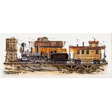 Delaware Lackawanna Western Train  - #NOR30  -  PRINT