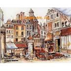 Merchants' Carts  - #NOR43  -  PRINT