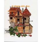 Victorian Birdhouse  - #NOR56  -  PRINT