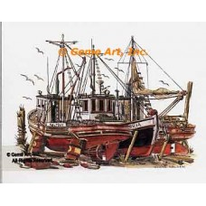 Dry Dock 3  - #NOR65  -  PRINT