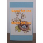 Bird Nest Note Card  - #CardSG69  -  NOTE CARD