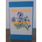 Pansy Note Card  - #CardWG140  -  NOTE CARD