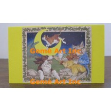 Nursery Yellow Note Card  - #CardYG37  -  NOTE CARD