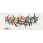 Pastel Garland  - #ZOR818  -  PRINT
