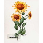Sunflowers  - #ZOR820  -  PRINT