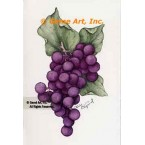Grapes  - #ZOR836  -  PRINT