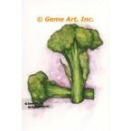 Broccoli  - #ZOR839  -  PRINT