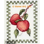 Apples  - #ZOR846  -  PRINT