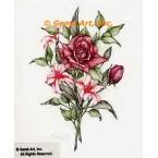 Roses & Lilies  - ZOR860  -  PRINT