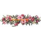 Lilies & Plums Garland  - #ZOR862  -  PRINT