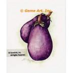 Eggplant  - #ZOR867  -  PRINT