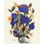 Hydrangeas & Sunflowers  - #ZOR874  -  PRINT