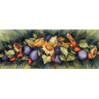 Sunflower & Fruit Garland  - #ZOR881  -  PRINT