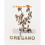 Oregano Spice  - #ZOR887  -  PRINT