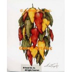 Peppers  - #ZOR894  -  PRINT