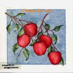 Apples  - #ZOR873  -  PRINT