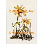 Yellow Daisies  - POR113  -  PRINT